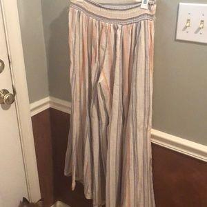 Free People Linen Pants
